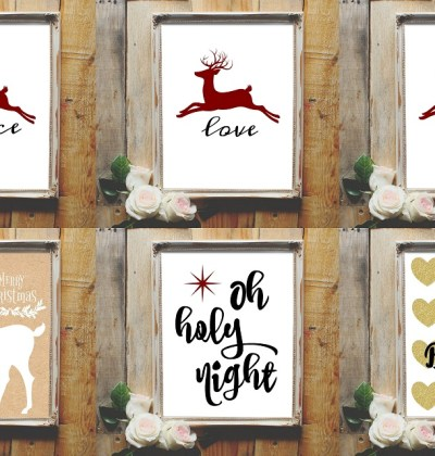 Sign up and get 6 FREE Christmas printables!