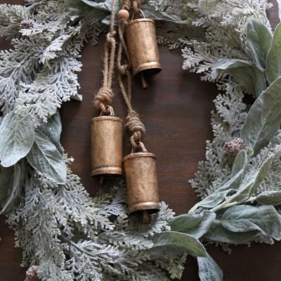 DIY Christmas Bell Wreath