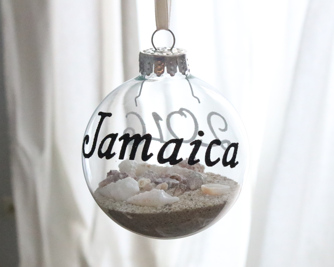 DIY Honeymoon Ornament