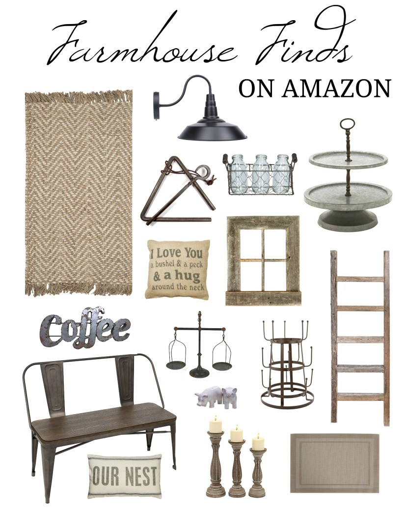 Best Farmhouse House Decor Finds on Amazon