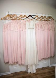 Bridesmaid Dresses and Wedding Dress