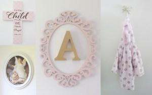 Baby Girl Nursery - Wall Decor