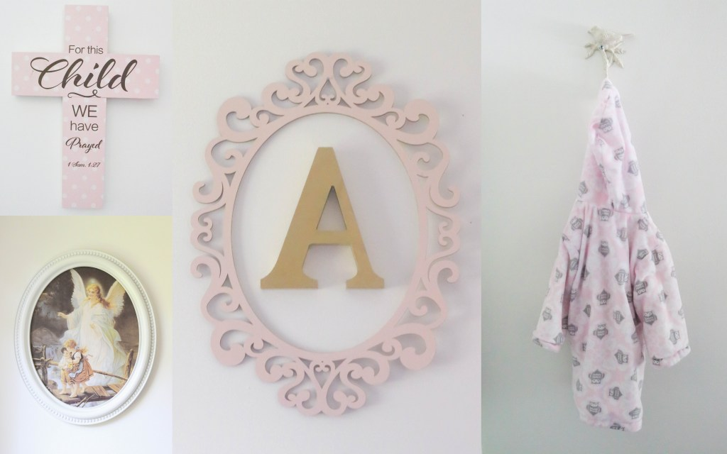 Baby Girl Nursery - Wall Decor