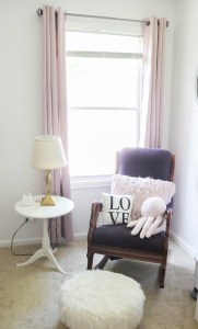 Baby Girl Nursery - Rocking Chair