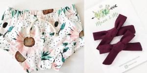 macieme shorts and bows