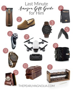 Amazon Gift Guide for Him for Last Minute Gifts