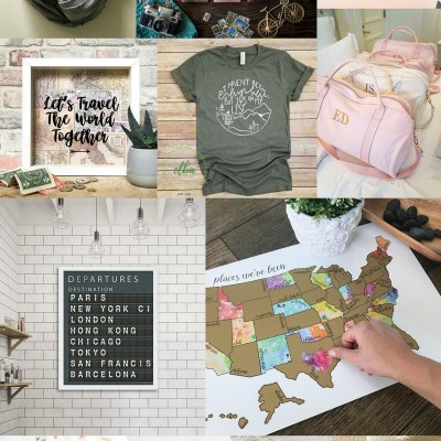 Etsy Gift Guide for the Traveler!