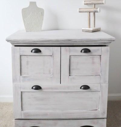 Before & After || File Cabinet Makeover