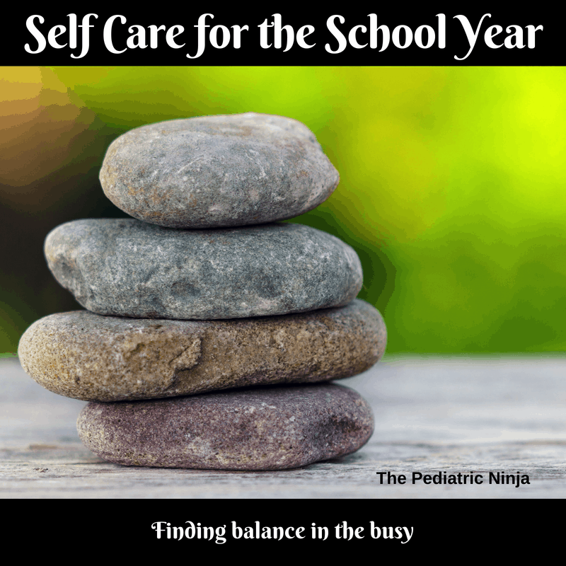 self care for the school year
