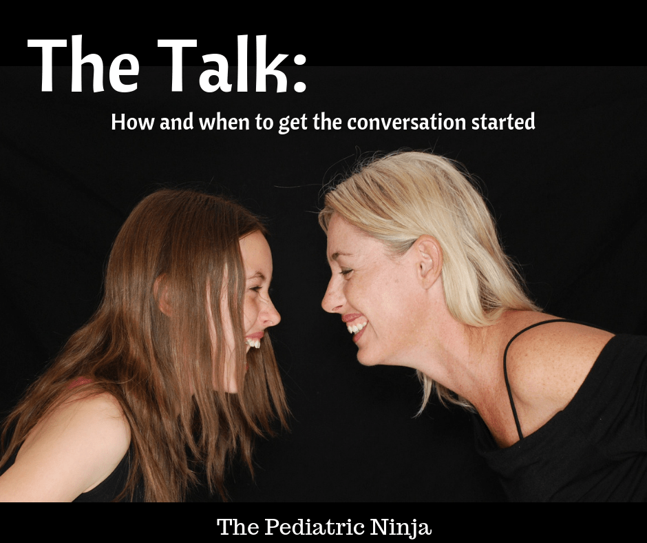 The Talk: how and when to get the conversation started