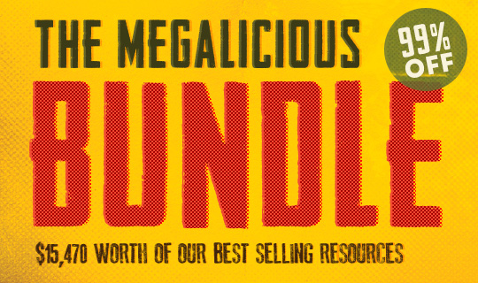 Megalicious Bundle $15,000+ worth of Best Selling Resources