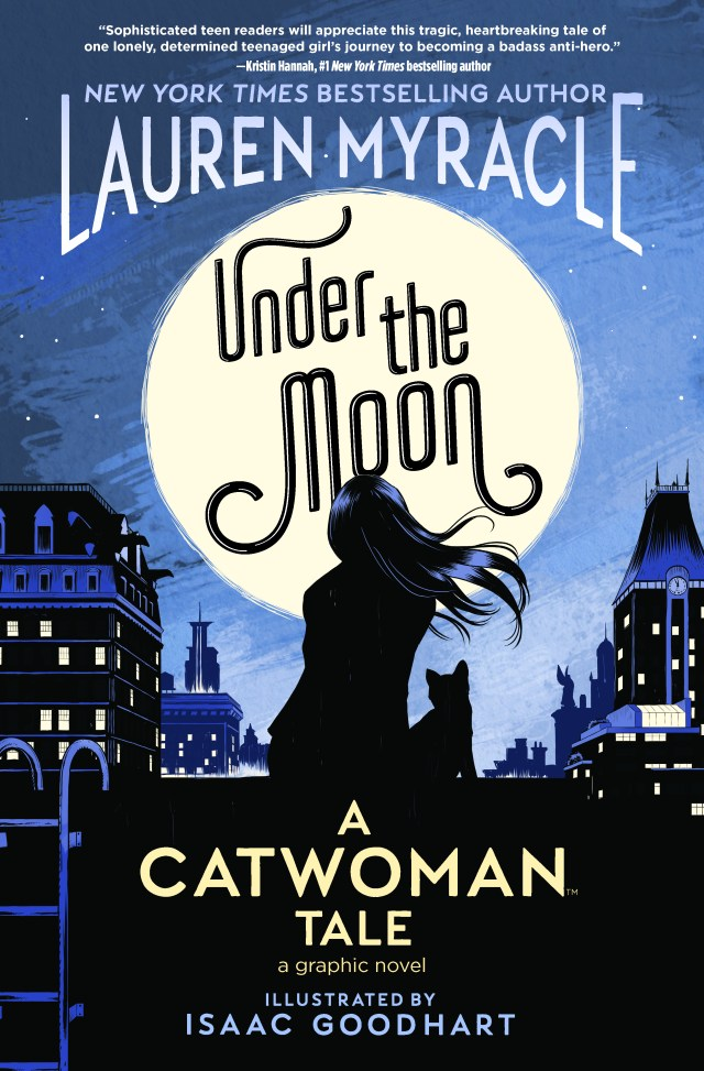 Review: Under the Moon: A Catwoman Tale #UnderTheMoonAcatwomanTale #NetGalley