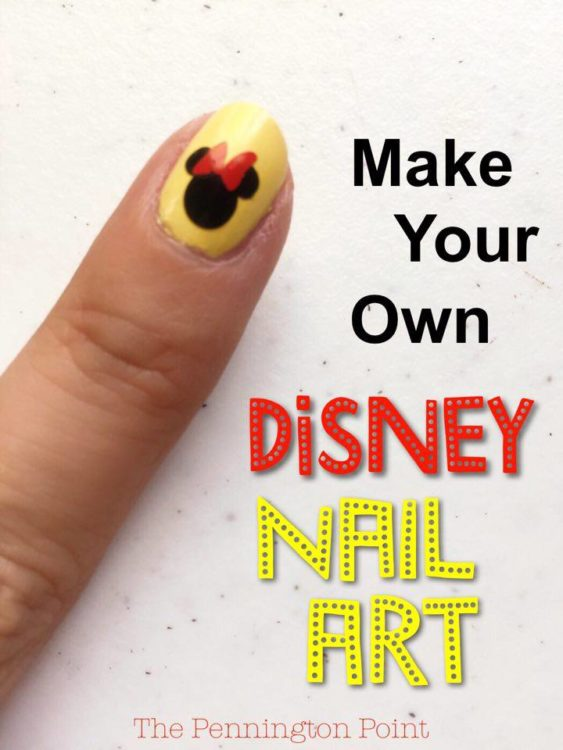Make Your Own Disney Nail Art With The Cricut It S So Fun And Easy