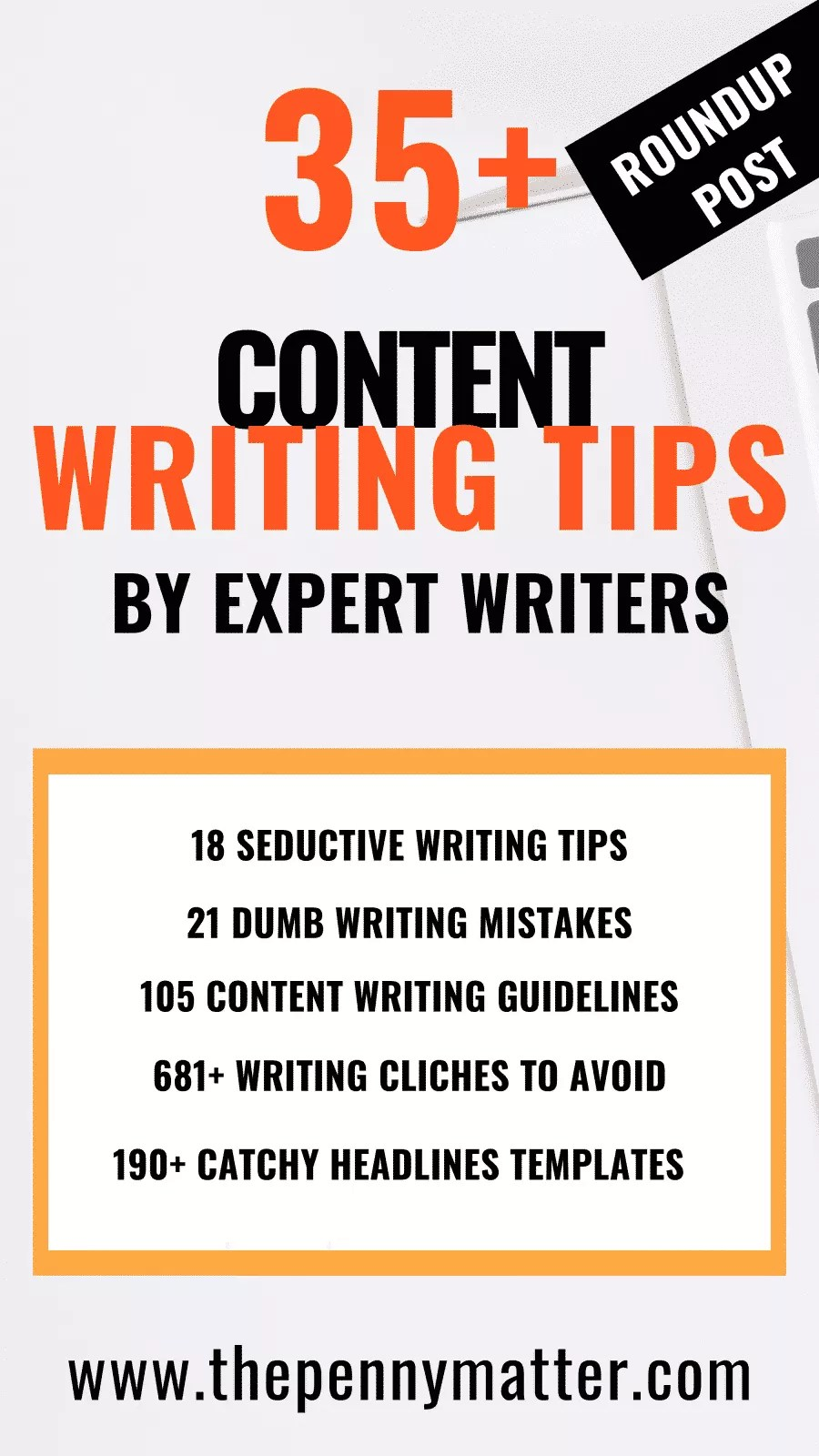 35+ content writing tips by expert writers