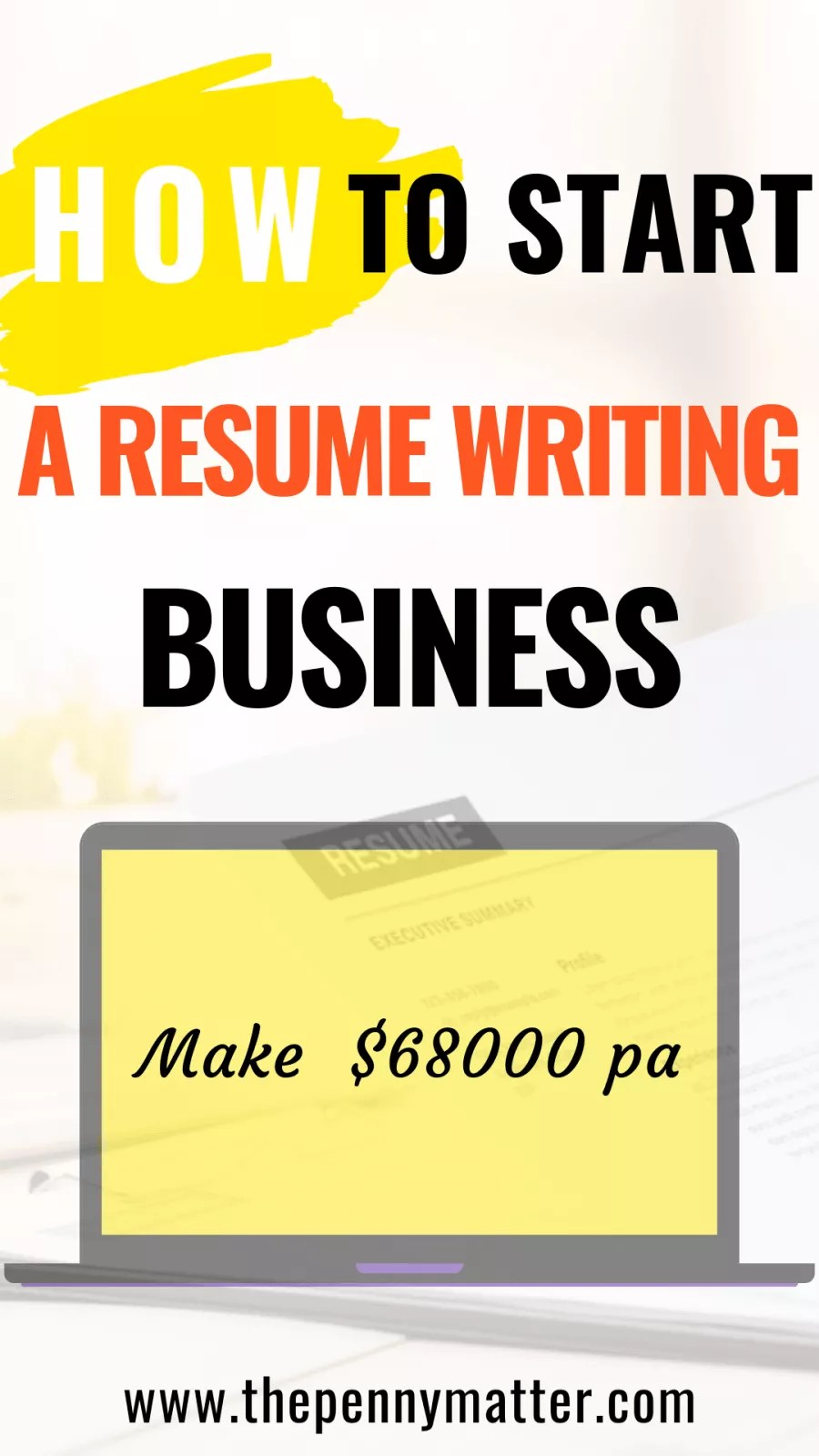 How To Start A Resume Writing Business Services Penny