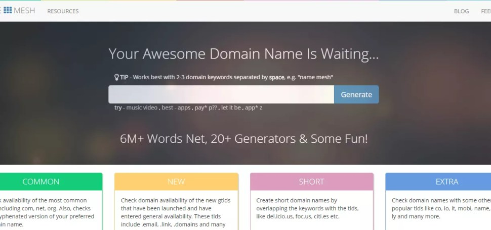 Namesh Best Blog Name Generators Good Blog Name Ideas