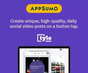 Appsumo Tyle social media videos