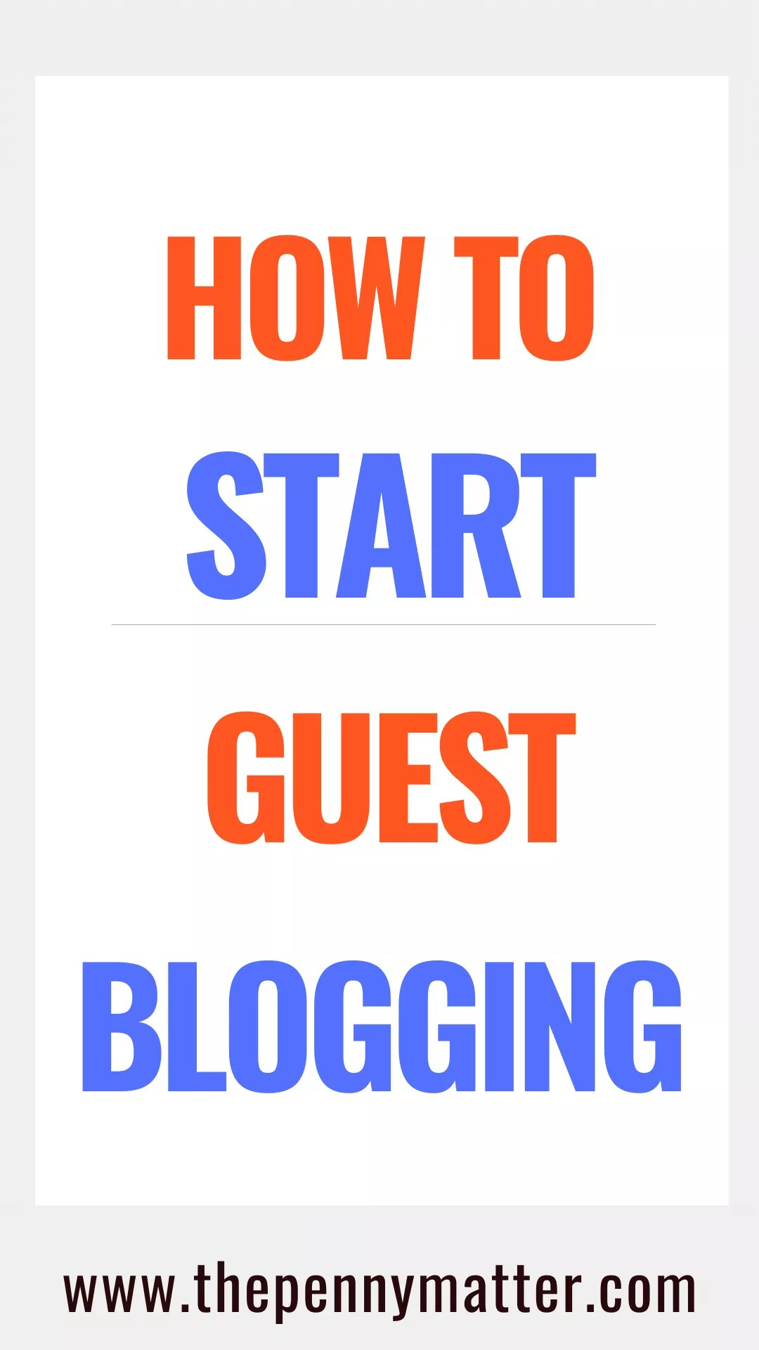 Want to start Guest Blogging? Here\'s a step by step guide on How to start Guest Blogging, how to find guest posting opportunities, how to write a guest post pitch like an expert, guest post submission guidelines etc. #guestposting #blog #bloggingtips #blogger #guestblogging