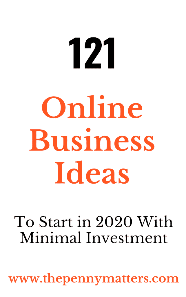 51 Online Business Ideas to Make Money Online in 2020 1
