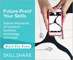 skillshare future proof sidebar