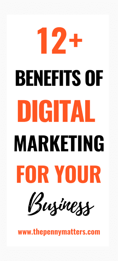 The Importance of Digital Marketing in Growing Your Business {12 Benefits}