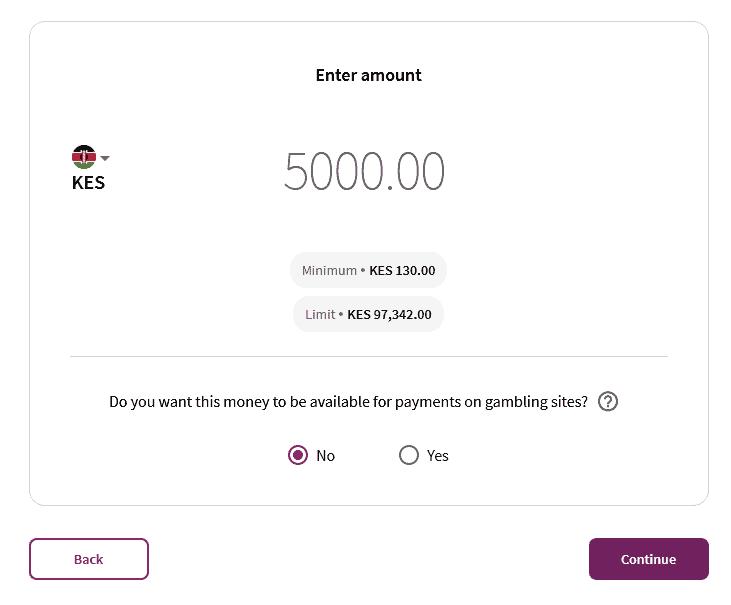 Skrill deposit money