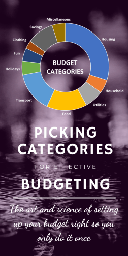 Picking Budget Categories - A Useful Guide