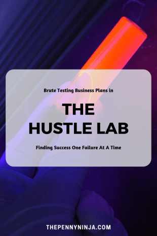 The Hustle Laboratory - Experimenting with side hustles