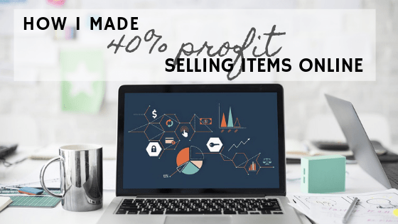 How I made 40% profit selling stuff in online auctions