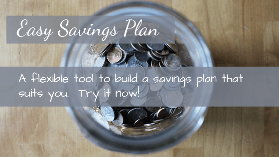 Build a Custom Savings Plan with our Online Tool