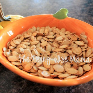 Sea Salt & Chipotle Pepper Roasted Pumpkin Seeds Recipe