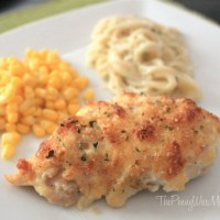 Parmesan Crusted Chicken Recipe | Fast & Easy Dinner!