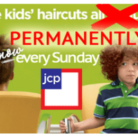 jcpenney salon: Free Kids' Haircuts Every Sunday!