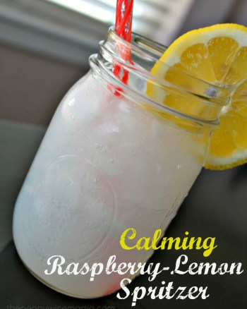 natural calm calming raspberry-lemon spritzer