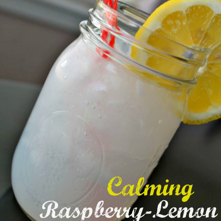 natural calm calming raspberry-lemon spritzer