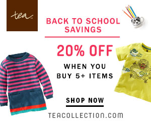 tea collection back to school sale