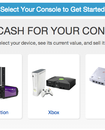 sell game console on eBay