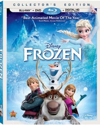 FROZEN Blu-ray DVD Combo Pack