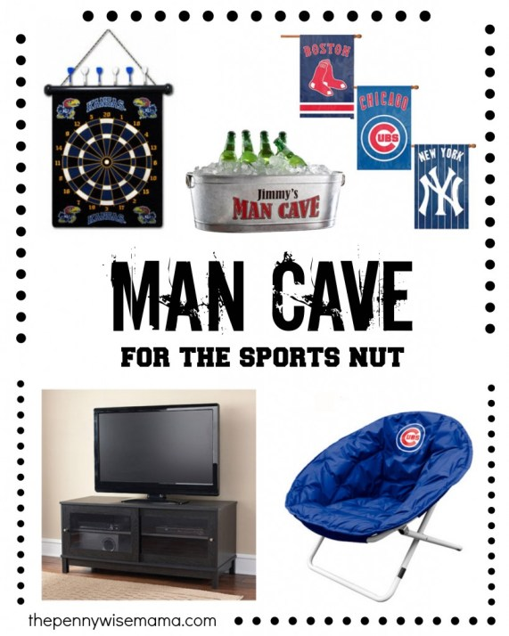 Man Cave for the Sports Nut