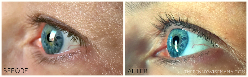 RapidLash Before & After