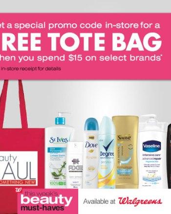 Beauty Deals at Walgreens