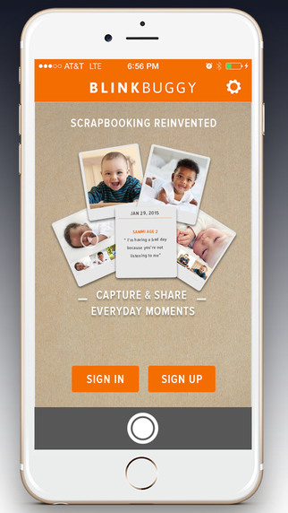 Create a digital scrapbook with Blinkbuggy