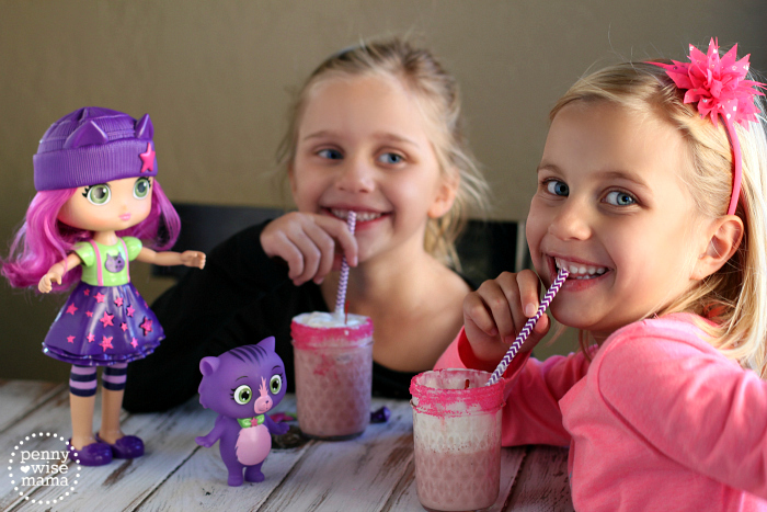 """Little Charmers """"Sparkle Shakes"""" - a fun & delicious treat that is also healthy!"""