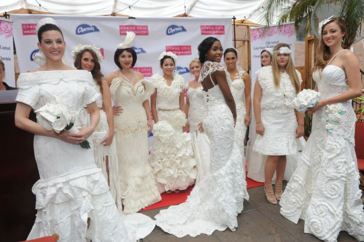 12th Annual Charmin Toilet Paper Wedding Dress Contest Finalists