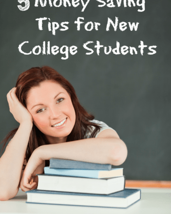 5 Money Saving Tips for New College Students
