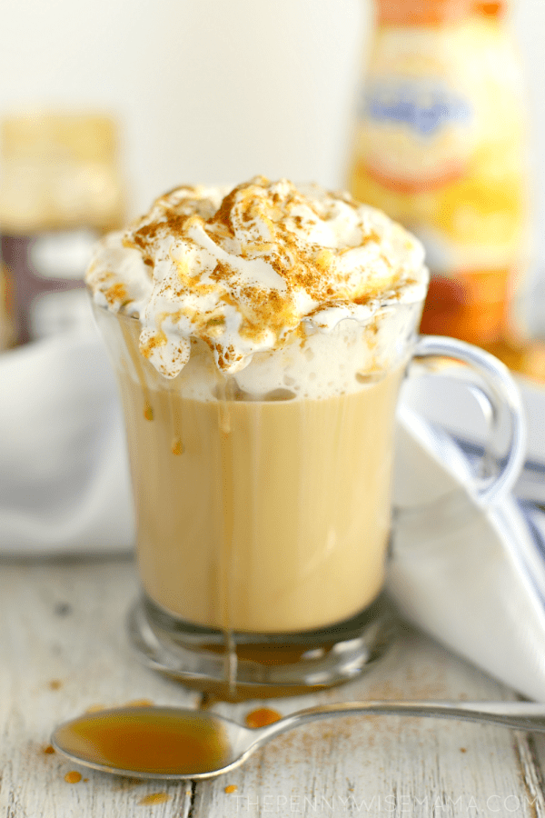 Caramel Pumpkin Spice Latte - Easy Make at Home Recipe!