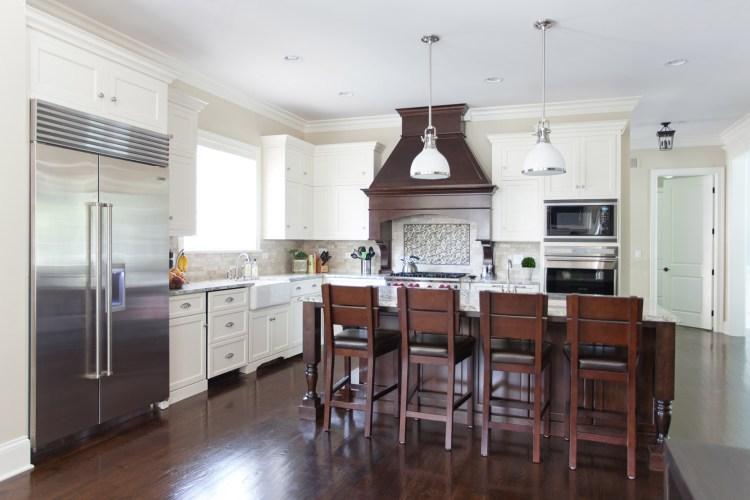 Pretty white kitchen