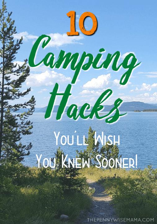 10 Camping Hacks