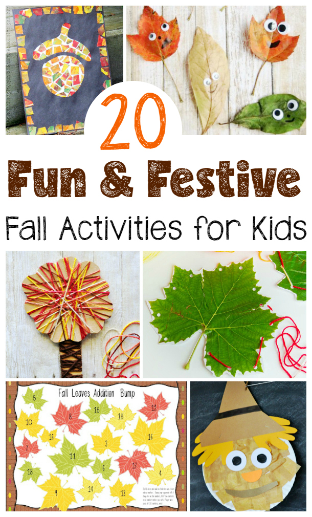 20 Fun & Festive Fall Activities for Kids