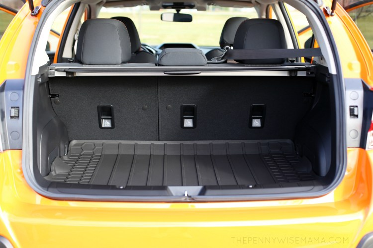 Trunk Space in 2018 Subaru Crosstrek